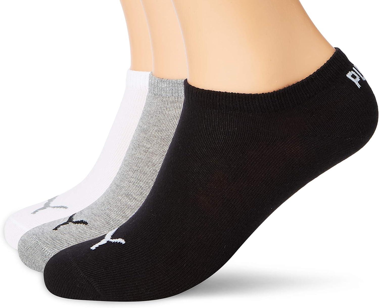 pack de 3 Calcetines tobilleros unisex Puma Invisible sneaker