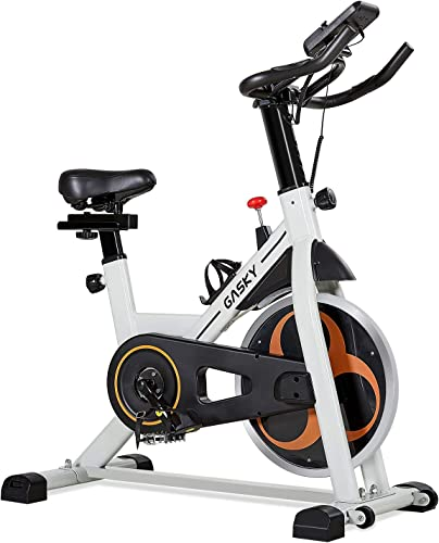 Gasky Spin Bike Indoor Stationary Exercise Bikes Belt Drive Cycling Home Training Gym Workout Equipment