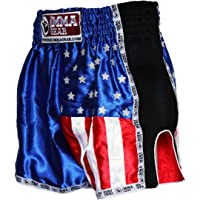 PREMIUM MUAY THAI SHORTS BY World MMA gear Handmade retro - Kickboxing, MMA, Thai Boxing