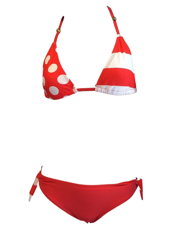 CC Girls Red Spot Bikini/Swimwear. Ages 7-16Yrs