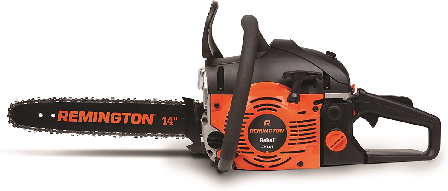 Remington RM4214 rebel 42cc 2 cycle 14-inch gas powered chainsaw