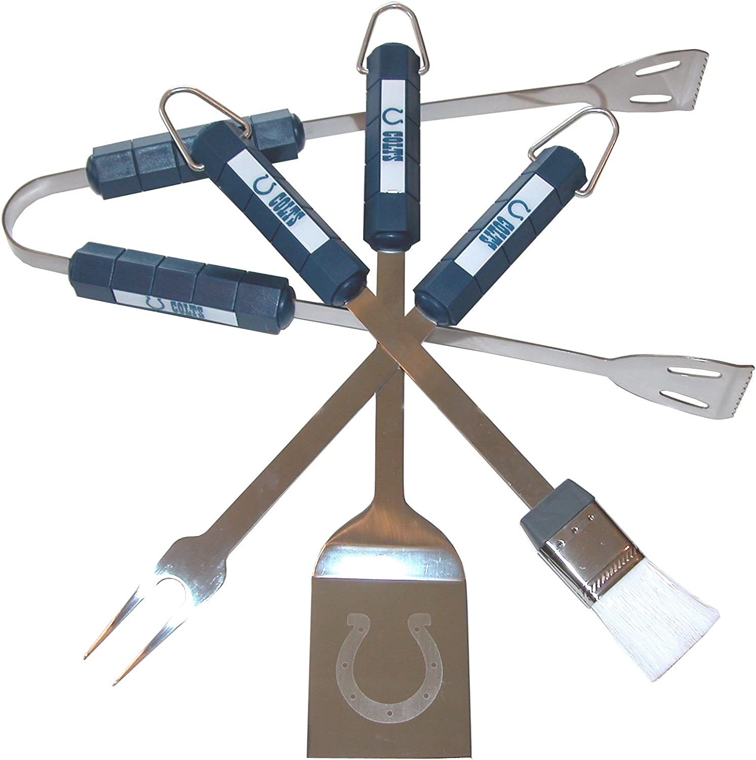 NFL Indianapolis Colts 4-Piece Barbecue Set
