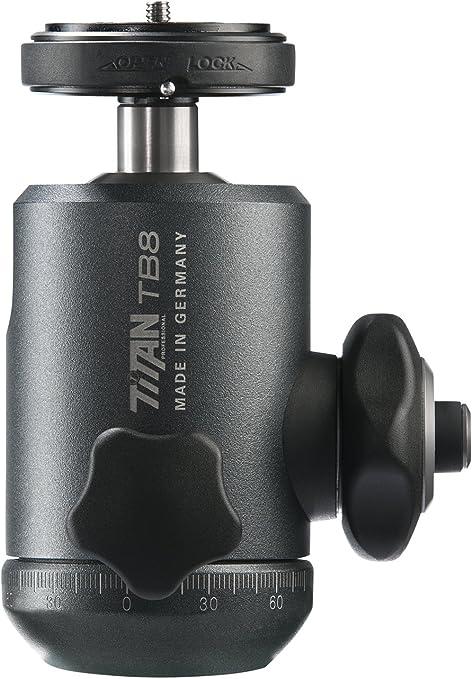 Cullmann Titan Tb8 2 Profi Kugelkopf Inkl Pinlock Kameraplatte