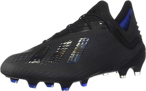 Adidas X 18.1 FG Crampons de Football pour Homme, Noir (Noir