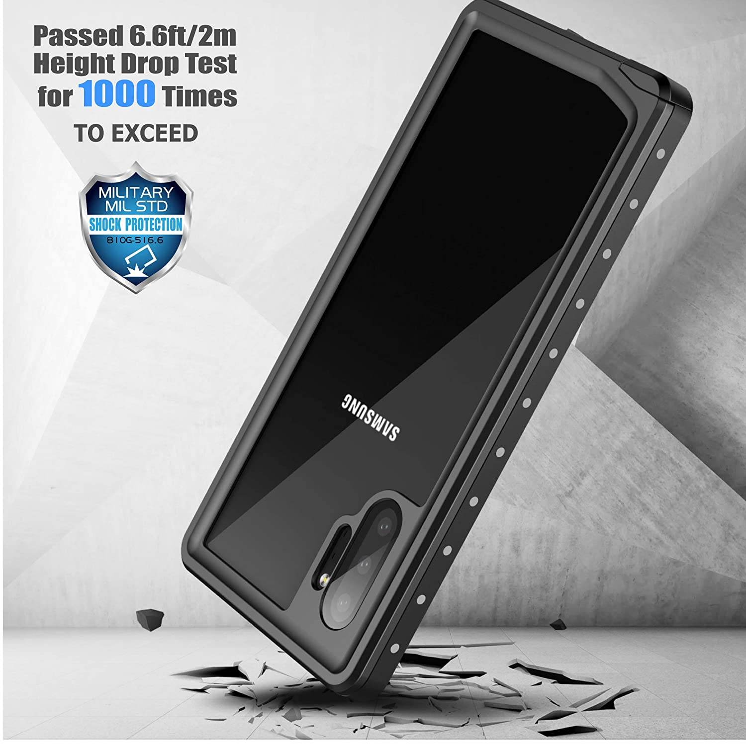 Amazon.com: Spidercase - Funda impermeable para Samsung ...