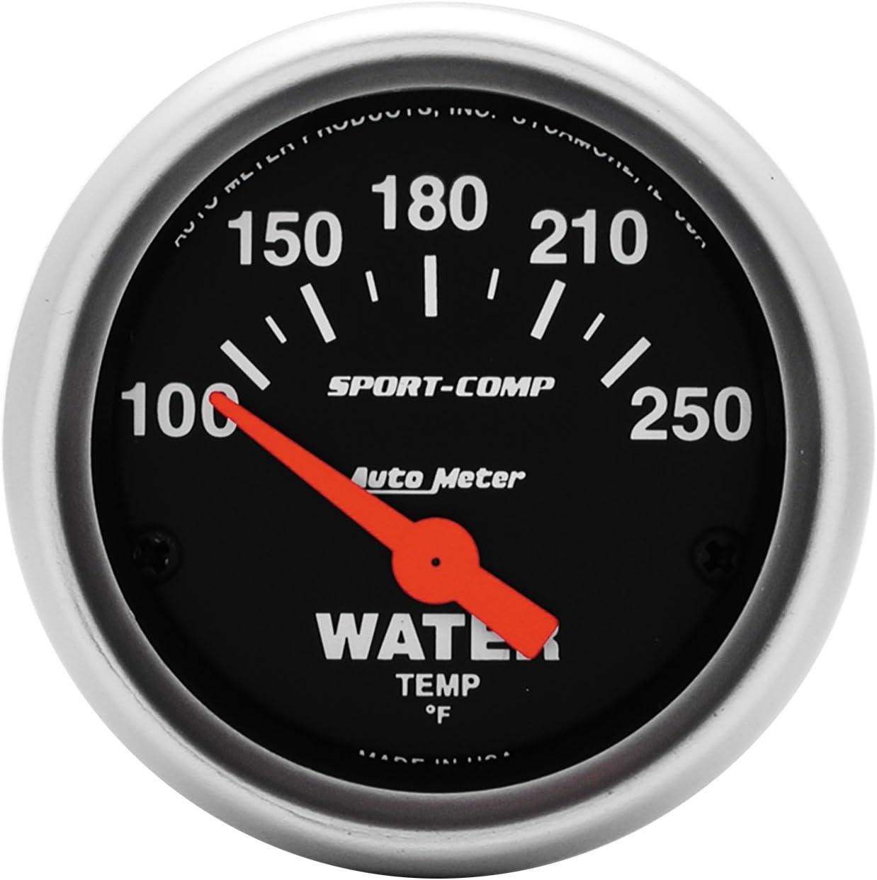 amazon com water temp gauges automotive autometer phantom gauges at night gauges car, truck, digital, racing