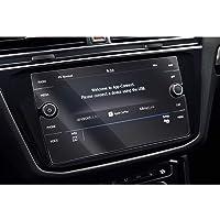 SHAOHAO Samochodowa nawigacja folia ochronna na wyświetlacz do VW T-ROC Tiguan 2 MK2 8-calowy GPS, przezroczysta folia…