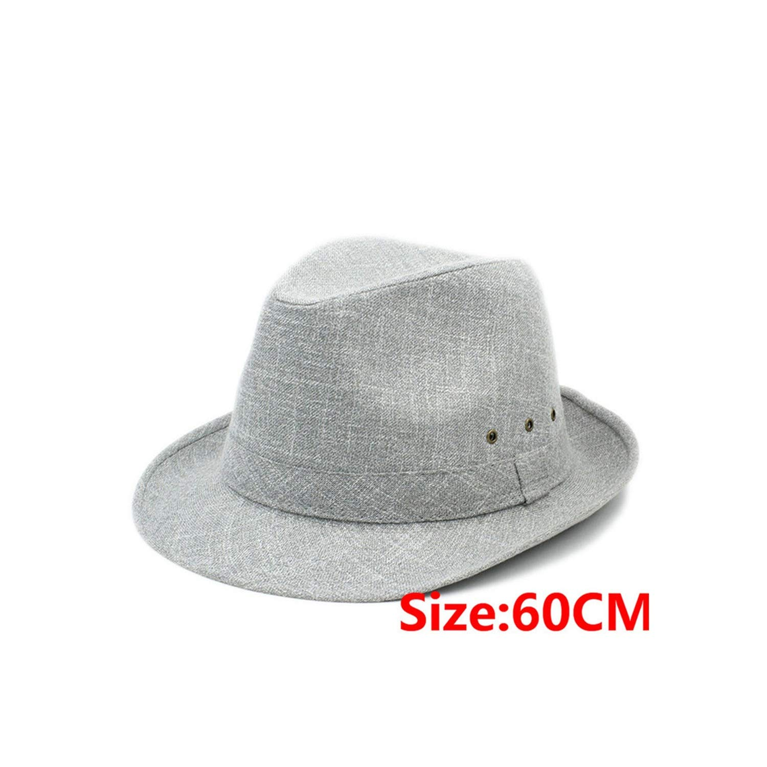 Big Size 60CM 7 inch Men Sun hat Dad Beach Fedora hat Sun Hat Trilby Gentleman