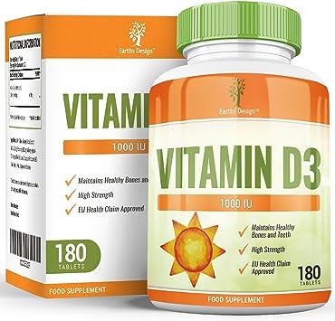 Vitamina D 1000 IU - Colecalciferol - Alta Concentración y ...