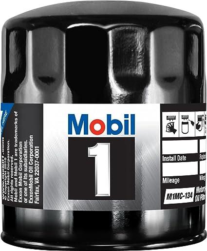 .com: mobil 1 m1mc-134 motorcycle oil filter: automotive