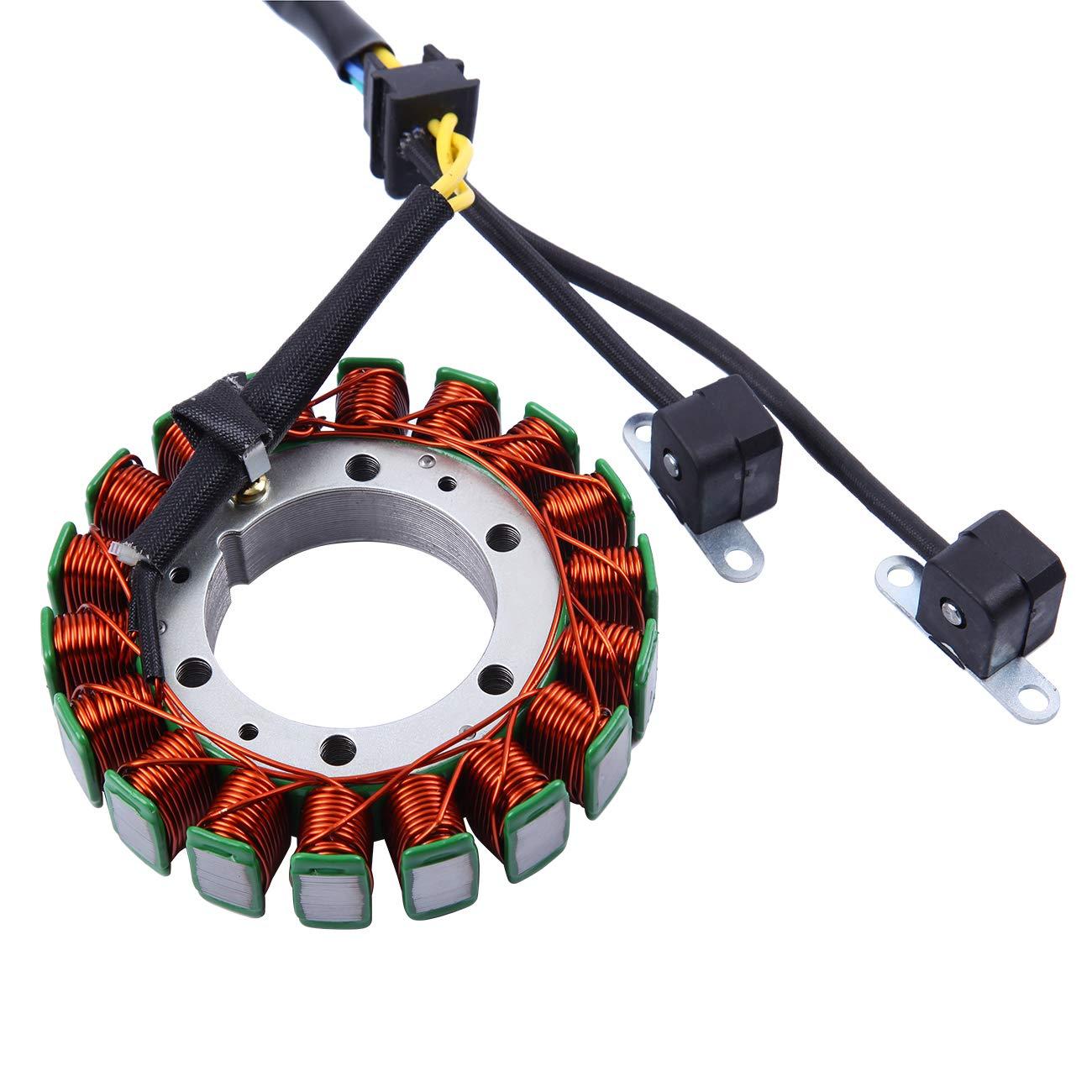 Ambienceo Regulator Rectifier Magneto Generator Engine Stator Coil for Suzuki VS1400GLP VS1400 GLP Intruder 1400 1987-2004