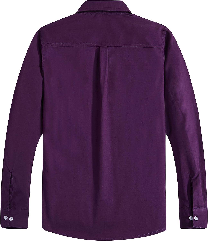 formelle coton pour uniforme solide Spring/&Gege Chemise manches longues