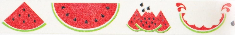 Watermelon Washi Tape (1 Roll - 9/16