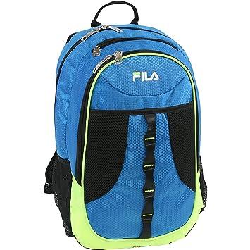 Fila FL-BP-1240 - Mochila Infantil Adulto Unisex, Blue/Neon Lime (Azul) - FL-BP-1240-BLLM: Amazon.es: Equipaje