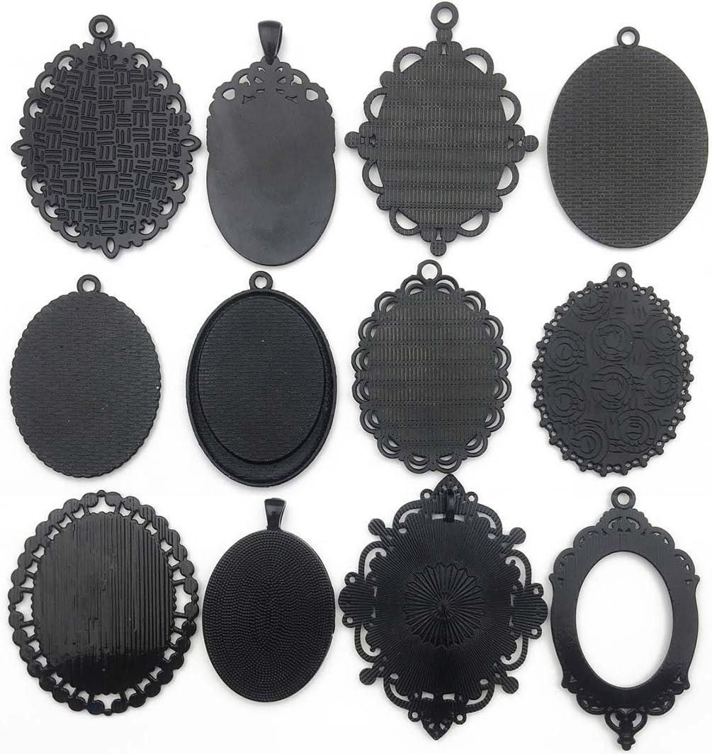 10Pcs//Set Enamel Alloy Leaves Charm Metal Pendants DIY Craft Jewelry Findings