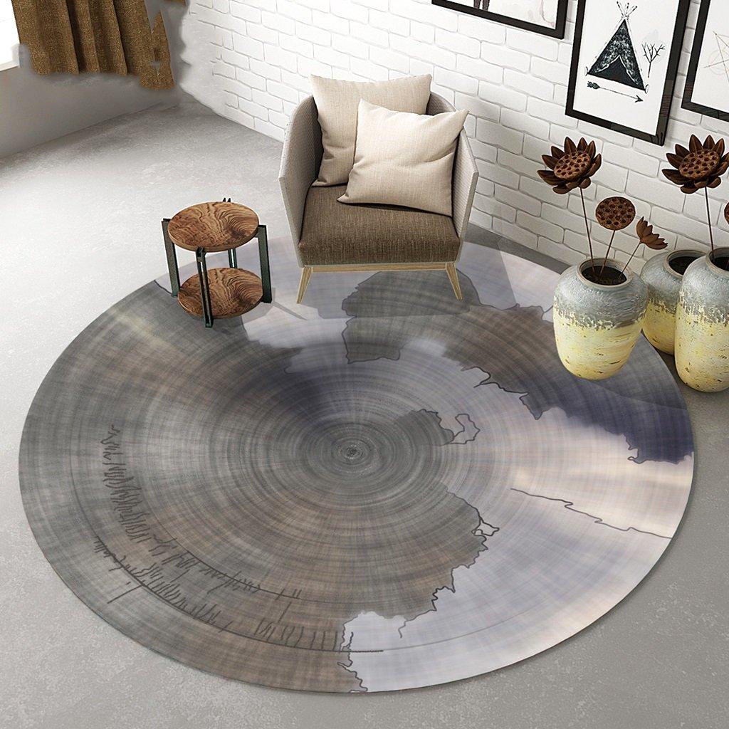 Teppich Persönlichkeit runden Teppich Wohnzimmer Yoga-Matten ...