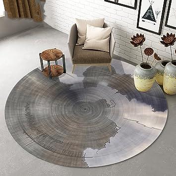 Amazon.de: Teppich Persönlichkeit runden Teppich Wohnzimmer Yoga ...