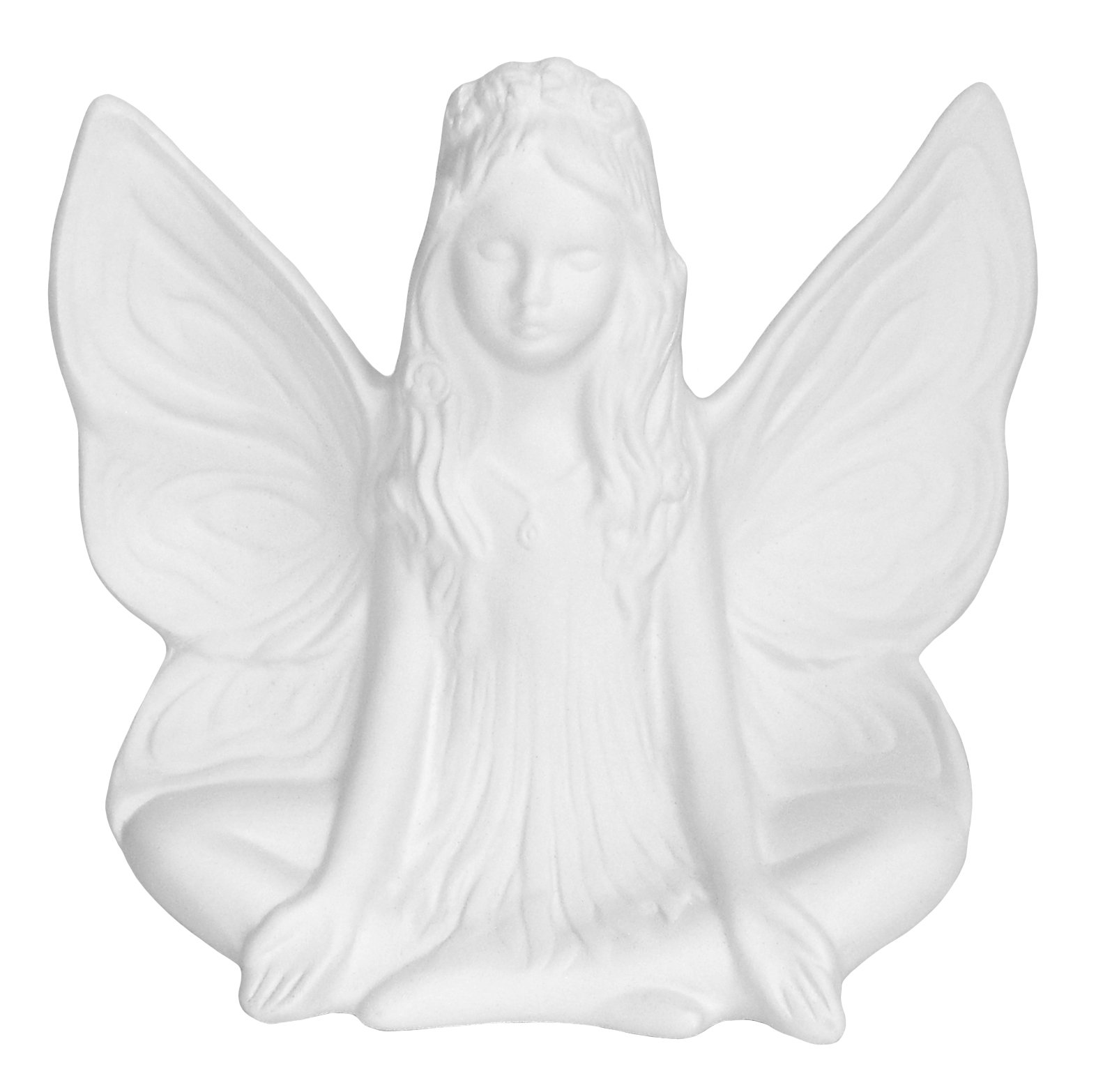 Mari The Magnificent Fairy - Stunning Detail - Paint Your Own Mystical Ceramic Keepsake
