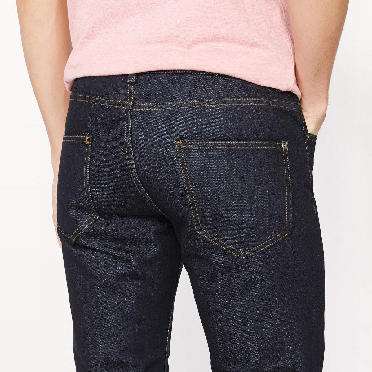 La Redoute Uniross Mens Straight Leg Jeans Length 32//34