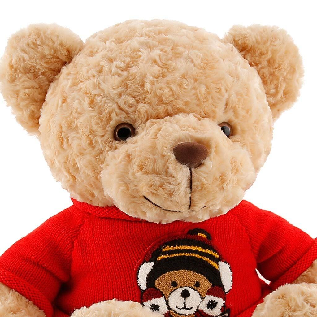 Zhijie-wanju Abrazo suéter Grande Oso de Peluche Abrazo Oso de Peluche de Juguete muñeca para Enviar Novia Regalo de cumpleaños Almohada 80 cm / 31.5 ...