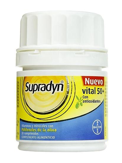 SUPRADYN VITAL 50+ ANTIOX 30 COMP