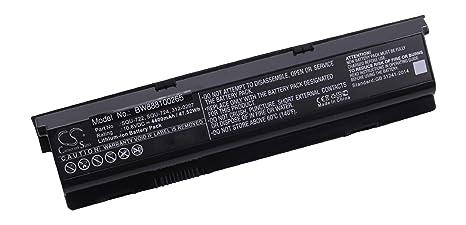 vhbw Li-Ion batería 4400mAh (10.8V) Negro para Ordenador portátil Laptop Notebook
