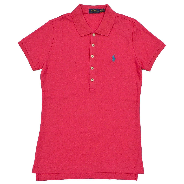 793570642 Polo Ralph Lauren Womens Interlock Polo Shirt at Amazon Women s Clothing  store