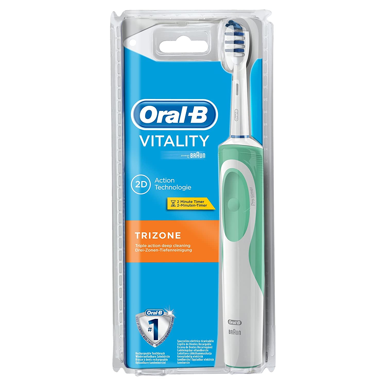 oral b vitality elektrische zahnb rste trizone f r 13 41 t glich die. Black Bedroom Furniture Sets. Home Design Ideas