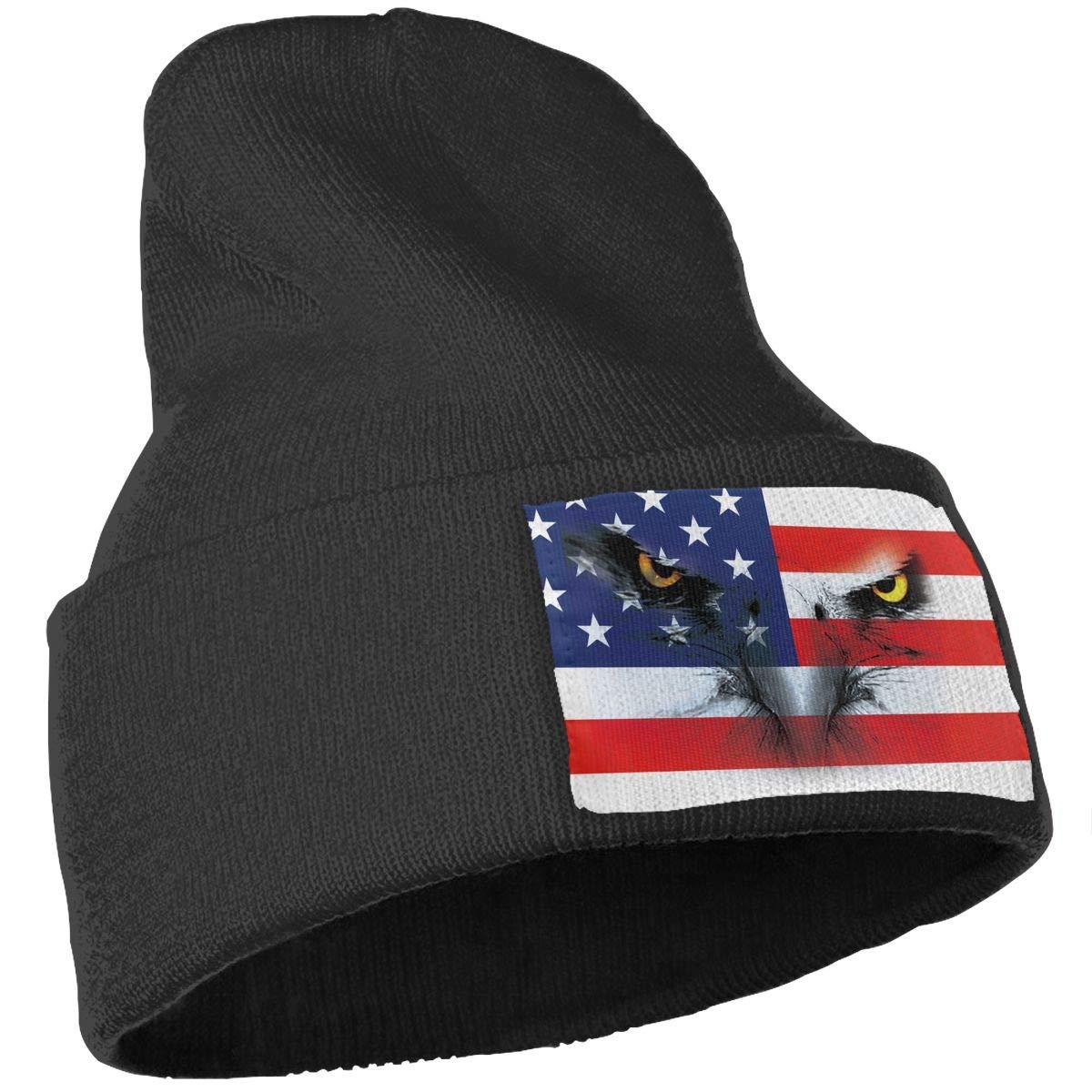 8cf0f9af2bff4 Amazon.com  American Eagle Winter Beanie Hat Soft   Warm Chunky Skull Wool Knit  Hats Cap for Men Women  Clothing