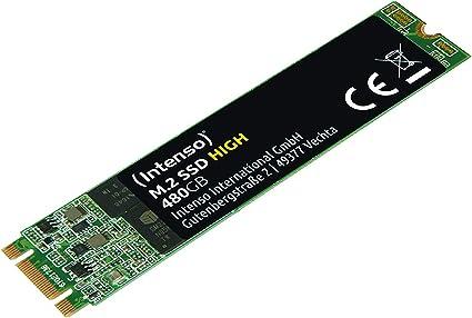 Intenso 3833450 480GB M.2 Serial ATA III Unidad de Estado Sólido - Disco Duro Sólido (480 GB, M.2, Serial ATA III, 520 MB/s, 6 Gbit/s): Amazon.es: Informática