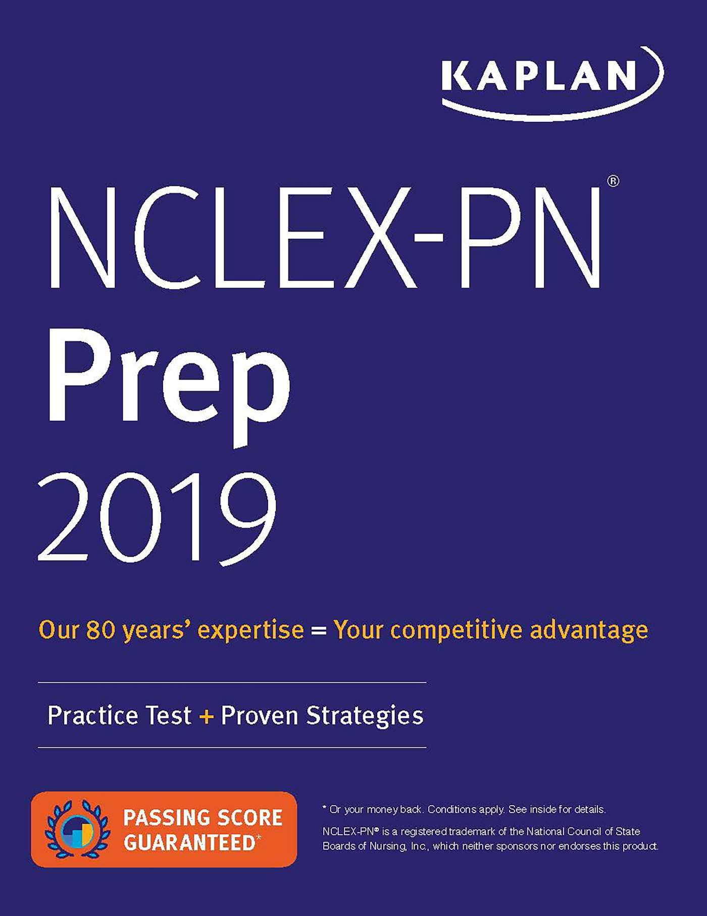 NCLEX PN Prep 2019  Practice Test + Proven Strategies  Kaplan Test Prep
