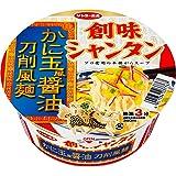 サンヨー食品 創味シャンタン かに玉風醤油 刀削風麺 85g ×12個