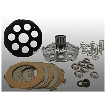 25090501 embrague Power Clutch Pinasco 7 muelles - Vespa PX - Rally - cosa 200: Amazon.es: Coche y moto