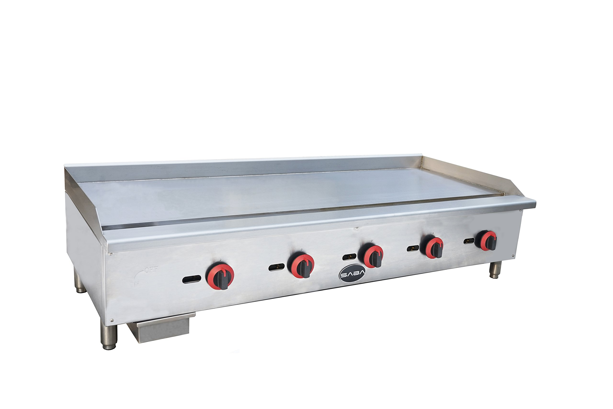 Limited Time Only! Heavy Duty Commercial 60'' Countertop Manual Griddle