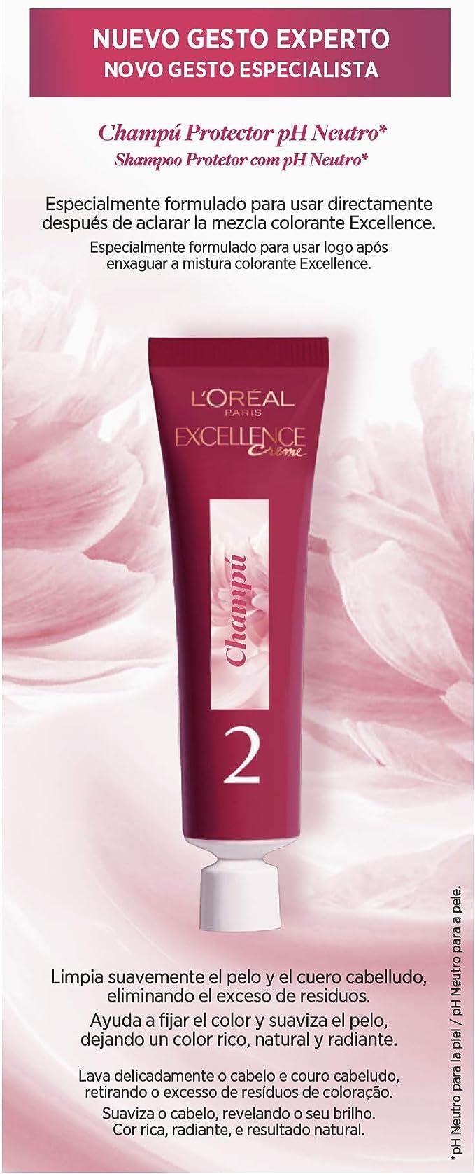LOréal Paris Excellence Creme Tinte Tono 6.1 Rubio Oscuro Ceniza ...