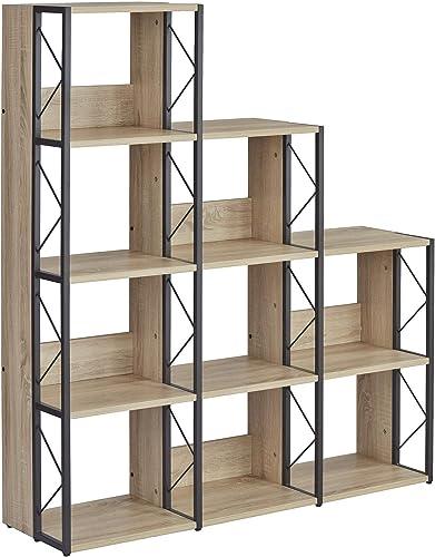 Mayline SOHO Multi-Height Cube Bookcase 58″H
