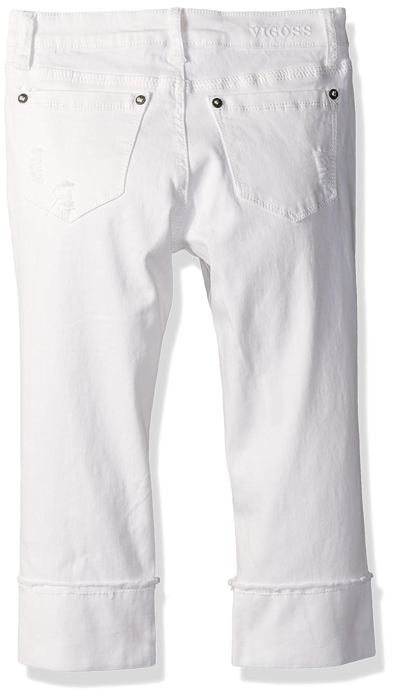 VIGOSS Girls Fashion Crop Skinny Jean