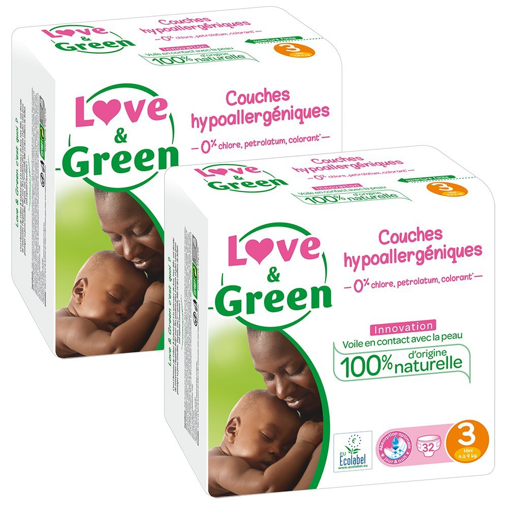 Love & Green Ecological Nappies 3700668700102