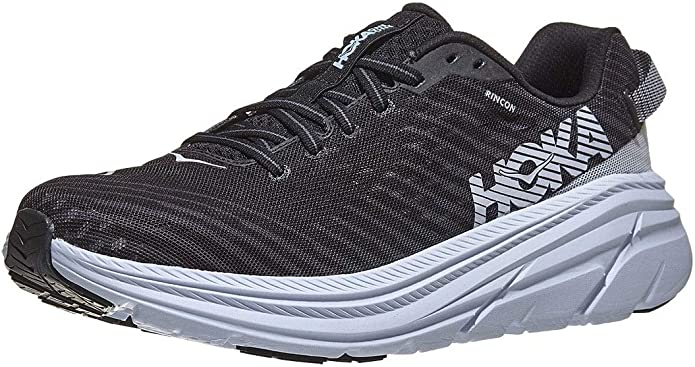 HOKA ONE One Rincon Deportivas Hombres Negro/Blanco - 43 1/3 - Running/Trail: Amazon.es: Zapatos y complementos