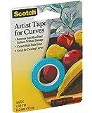 3M Scotch 1/8-Inch Artist Curves Tape