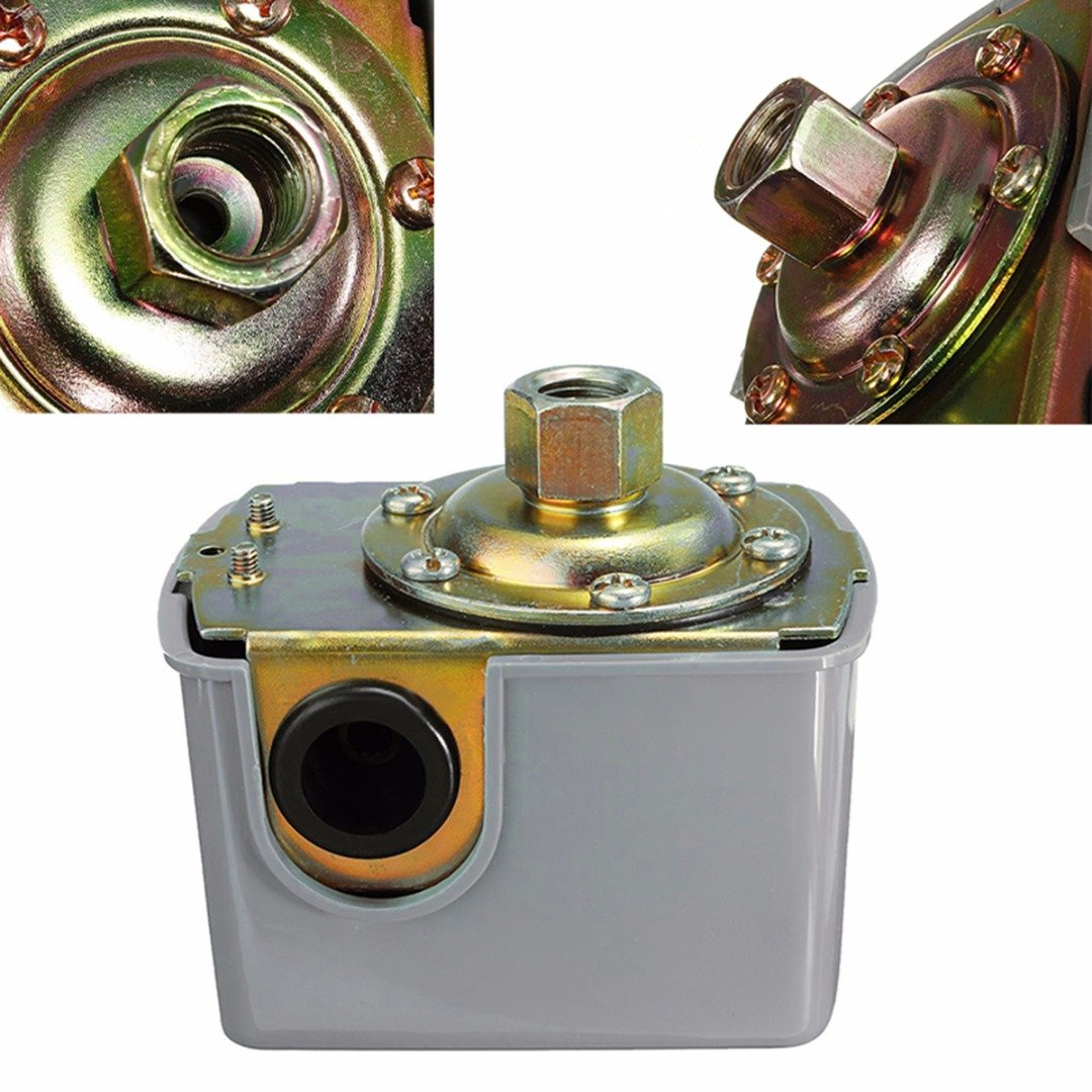40-60psi Well Water Pump Pressure Control Switch Adjustable Double Spring Pole For Water Pumps