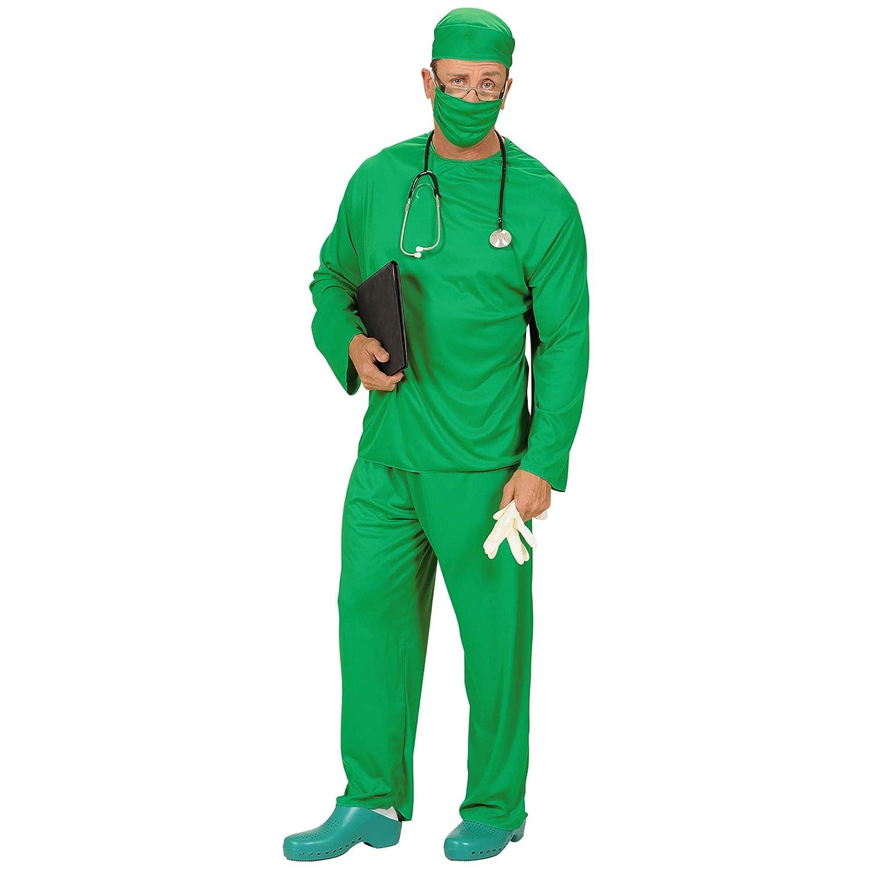 WIDMANN Hombres Cirujano Costume Large Reino Unido 42/44