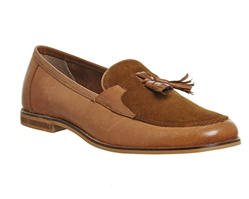 Top BrandDockland - Mocasines con Borla Hombre, Color marrón, Talla 41 EU: Amazon.es: Zapatos y complementos