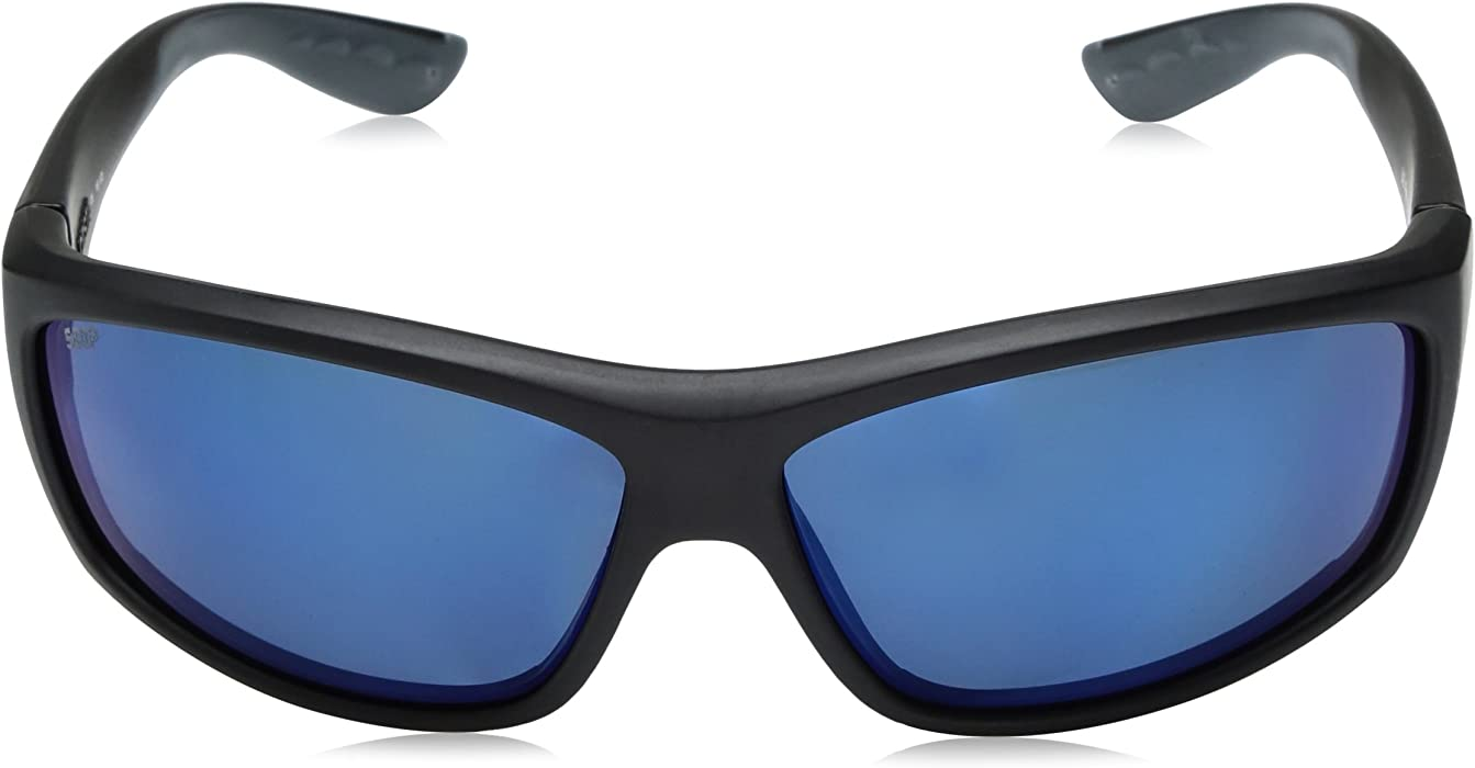 905cf4e16b Unisex-Adult Saltbreak BK 11 OGMGLP Polarized Iridium Wrap Sunglasses. Costa  Del Mar ...