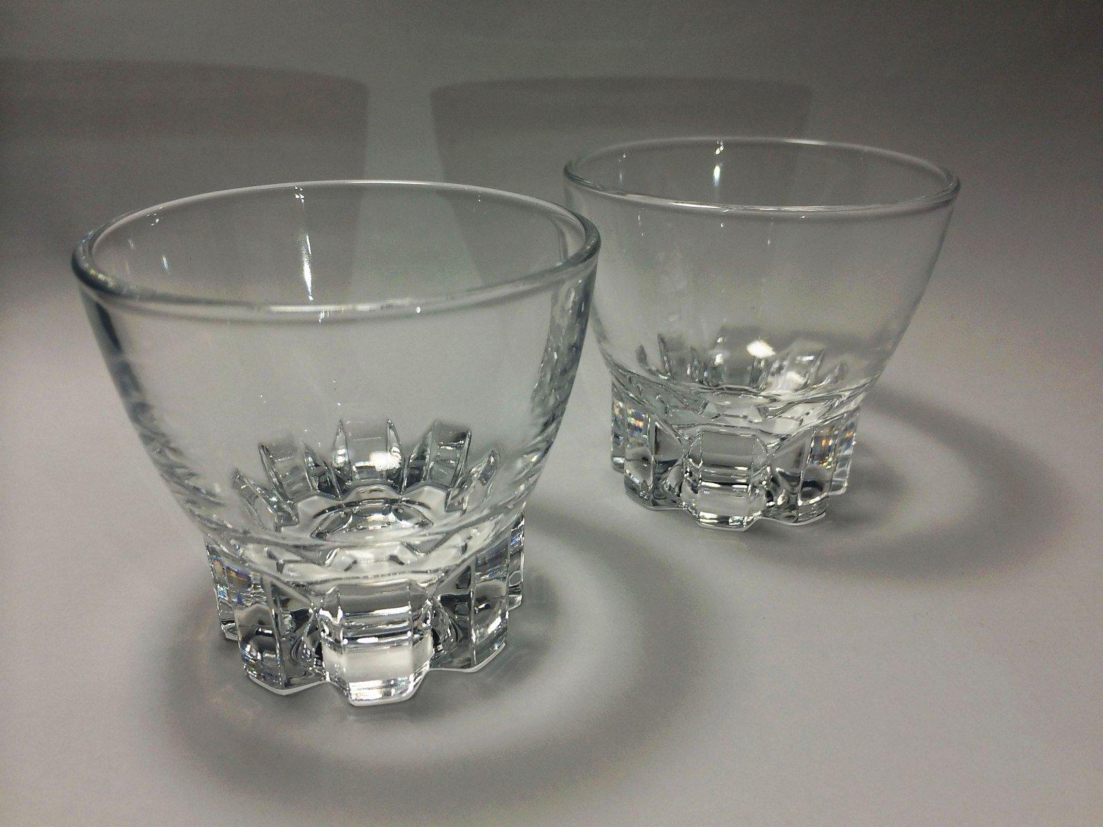 Sake CUP Sakazuki 2pcs SET Gls-1011-000cr Japanese Sake Ochoko Guinomi