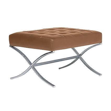 Peachy Amazon Com Studio Designs Home Atrium Bonded Leather Tufted Pabps2019 Chair Design Images Pabps2019Com