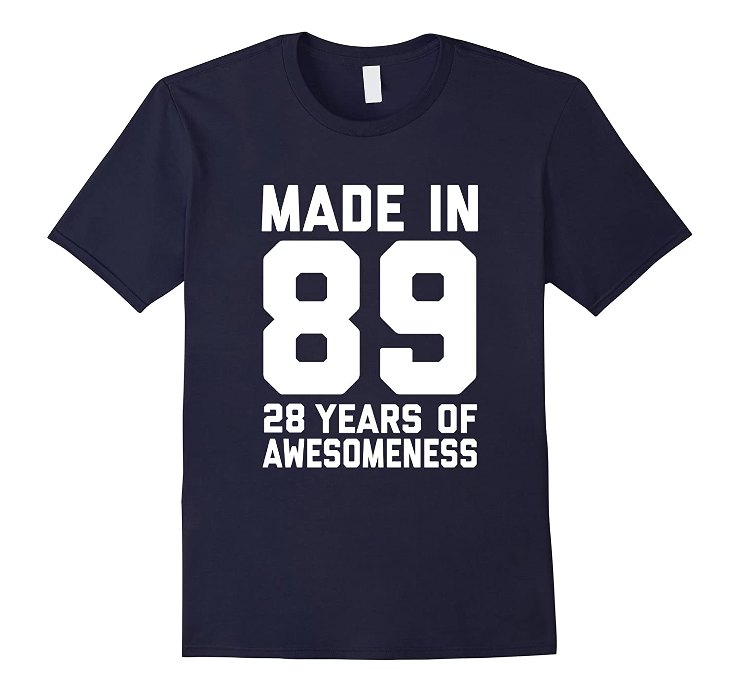 28th Birthday Shirt Gift Age 28 Year Old Mens Womens Tshirt-FL