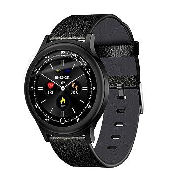 Pulsera de Actividad Inteligente, Reloj Inteligente Hombre Mujer con Pulsómetro y Presión Arterial Reloj Deportivo