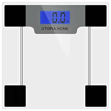 utopai home digital glass bathroom scale with thick tempered glass transparent amazoncom tempered glass