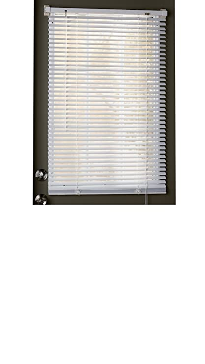can you hang blinds on a steel door